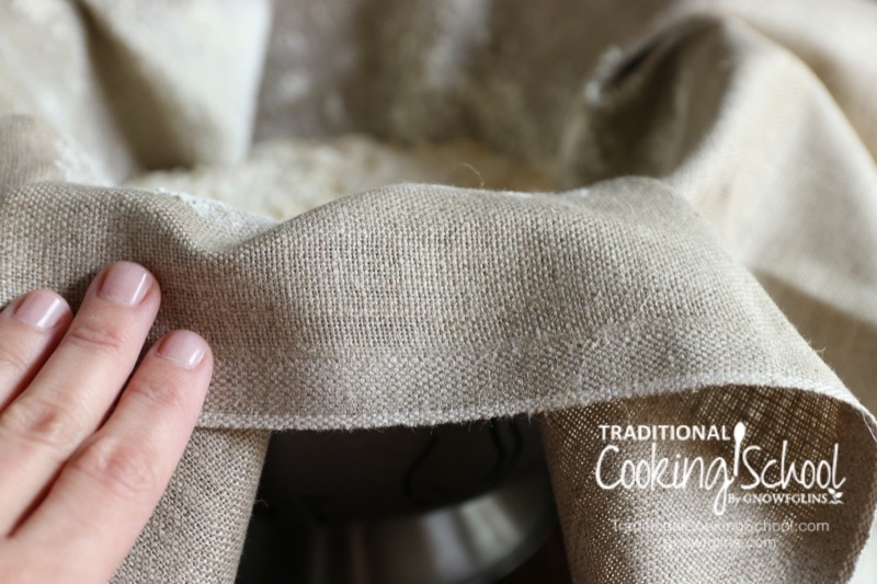 """#AskWardee 023: What Is A Linen Couche Proofing Cloth? How Do I Use It And Care For It?   My linen couche is one of my favorite things to use in the kitchen -- especially when baking my no-knead einkorn sourdough bread. """"What is a linen couche proofing cloth? How do I use it and care for it?"""" Melissa C. wants to know on today's #AskWardee. I'm answering all her questions!   AskWardee.tv"""