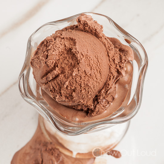 how to get chocolate ice cream out of clothes