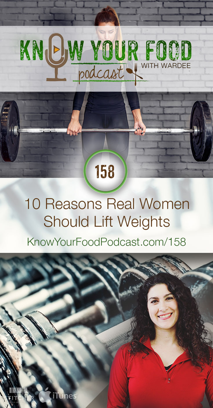 "KYF #158: 10 Reasons Real Women Should Lift Weights | I know what you're thinking... ""Weight lifting is only for men!"" Right? No, it's not. Lifting weights is especially awesome for women -- it helps us look good, feel good, and do good for our families and husbands. Here are 10 reasons real women should lift weights. 