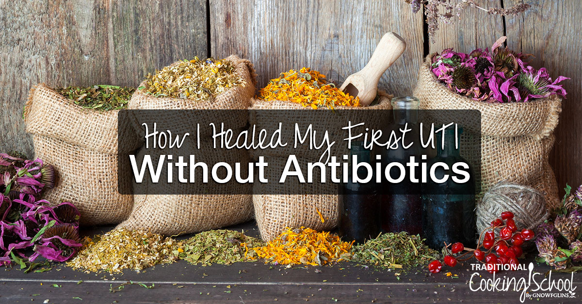 How I Healed My First UTI Without Antibiotics