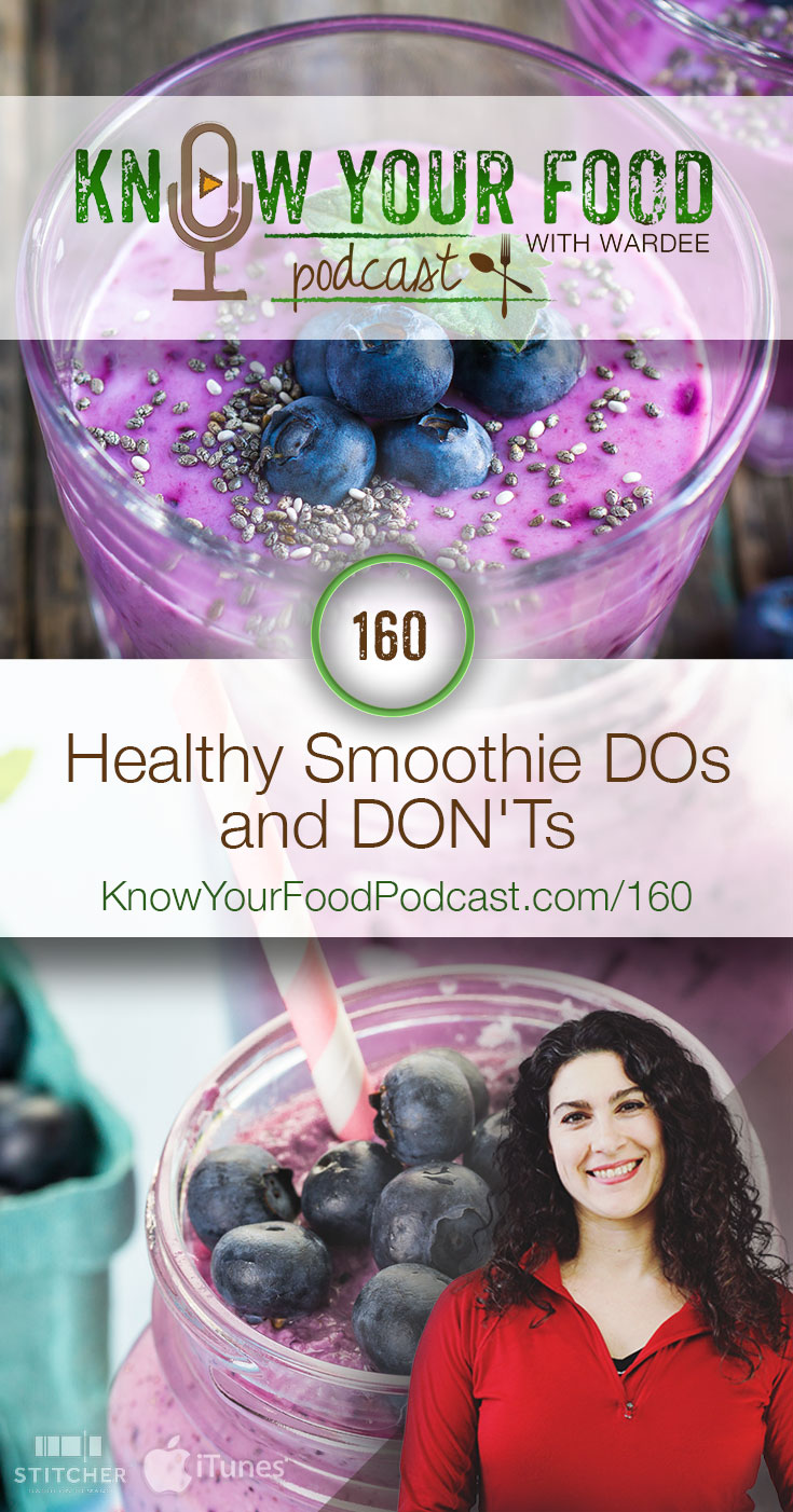 "KYF #160: Healthy Smoothie DOs and DON'Ts | Greens, coconut water, gelatin/collagen... people are telling you to put them in your smoothies, right? Hold your horses! Wait! These ""superfoods"" may not be all they're cracked up to be. Before you jump in whole hog... pay attention to these 6 DON'Ts and 15 DOs. So you can make your smoothies nourishing beyond any doubt! 