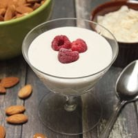 When I gave up dairy, I thought my days of eating creamy, delicious yogurt were over. Of the few dairy-free yogurts even available, many of them were chalky, tasteless, or full of sugar and additives. So I stopped buying yogurt altogether, but I always missed it... Until I discovered how easy it was to make my own dairy-free yogurt!