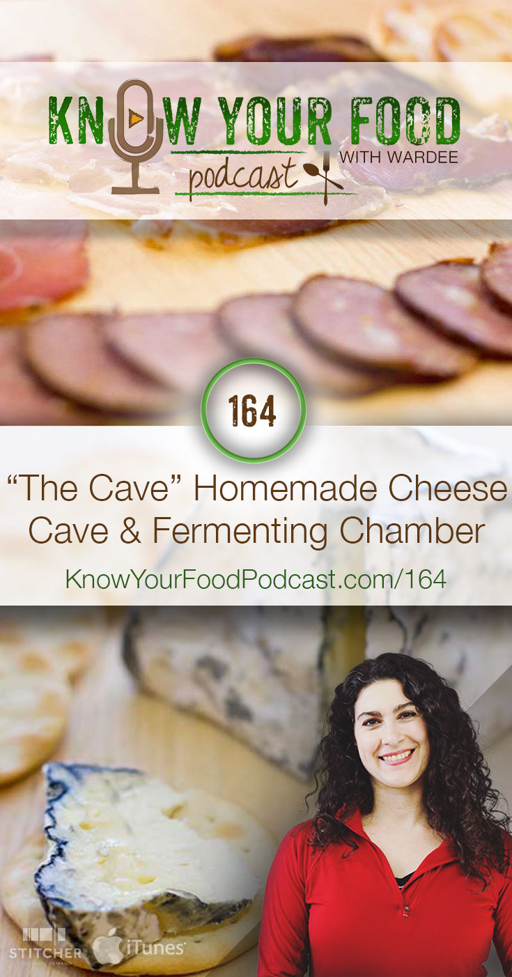 "KYF #164: ""The Cave"" Homemade Cheese Cave & Fermenting Chamber 