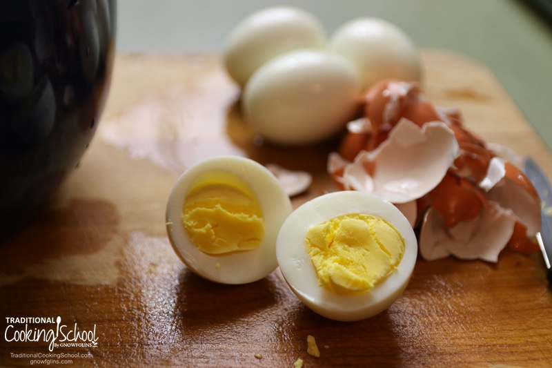 """How do I make easy to peel hard boiled eggs?"" asks Angel on today's #AskWardee. I'll share the frustration-free, no-fail way to do it. Works every time! 