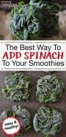 Spinach and kale are power-packed veggies that I love adding to regular and green smoothie recipes for kids and even for weight loss. There's just one problem: they have lots of oxalates. Here's how to lower oxalates and use greens in smoothies without the pain of steaming it every time. Whether you're adding it to strawberry, pineapple, banana or other fruit, this tip will save time and energy.