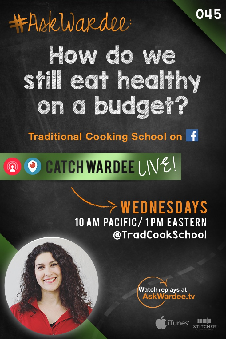 "Trying to get out of debt and still eat healthy on a budget? So is Debbie. She asks: ""We're trying to get out of debt. How do we eat healthy on a budget?"" The good news? It IS possible! Watch, listen, or read to find out how! 