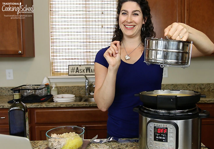 11 Surprising Things You Can Make In The Instant Pot   The Instant Pot isn't for mouth-watering roasts and stews. Oh, no... here are 11 surprising things to make in the Instant Pot. I bet you're shocked by #2, #4, and #11!   TraditionalCookingSchool.com