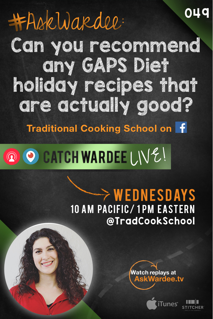 Potentially, the holidays could be quite stressful... because someone in your family is on a special diet and you need to come up with a delicious meal that everyone can eat. Lisa D. is having the same problem. Watch, listen, or read to find out about yummy allergy-free holiday recipes! | AskWardee.tv