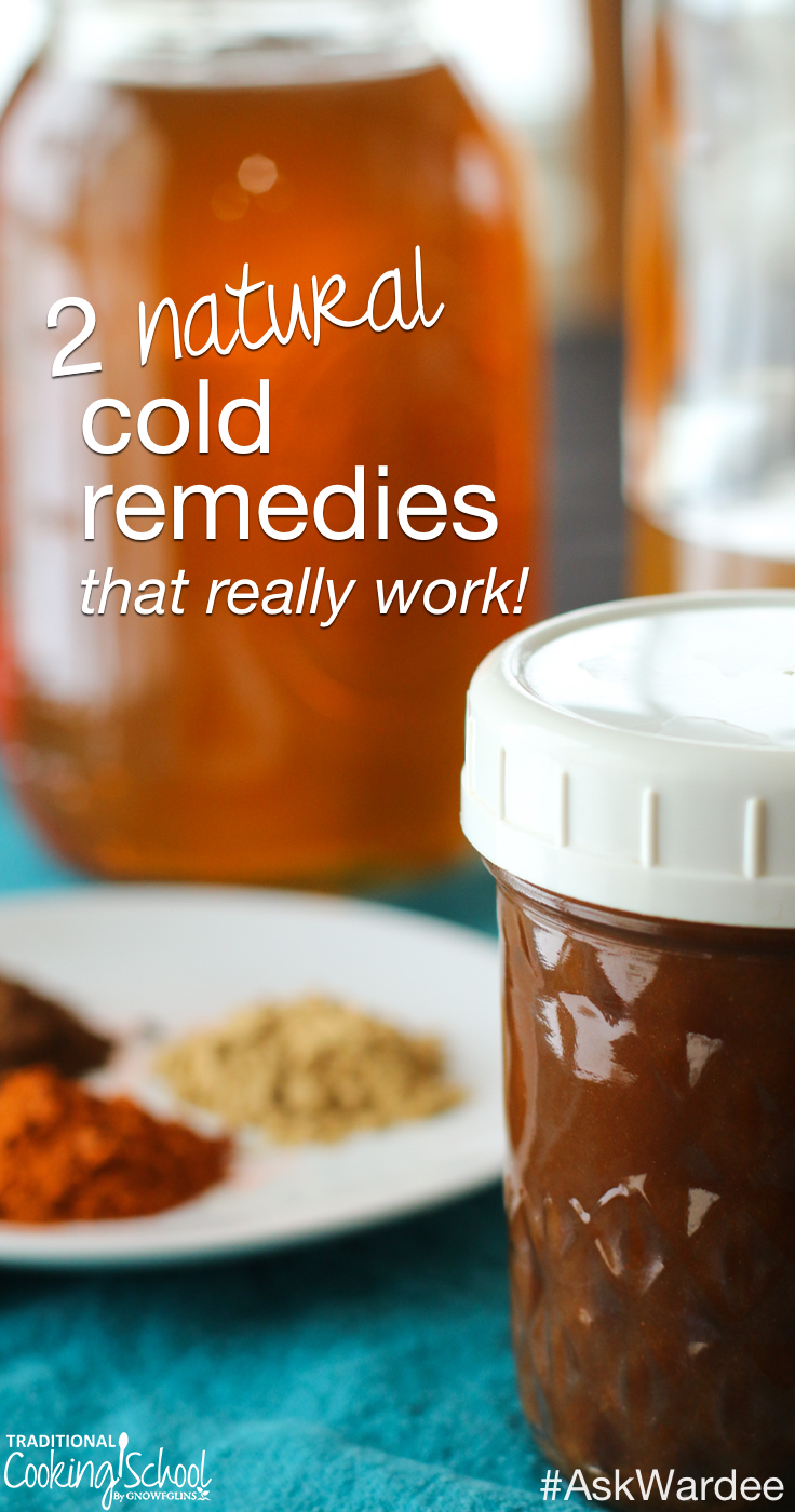 2 Natural Cold Remedies That Really Work! | The week before last, I felt that tell-tale tickle in the back of my throat and had a full-blown cold within 24 hours. I used 2 natural remedies to get over it quickly. Keep reading to find out what remedies actually worked! | AskWardee.tv