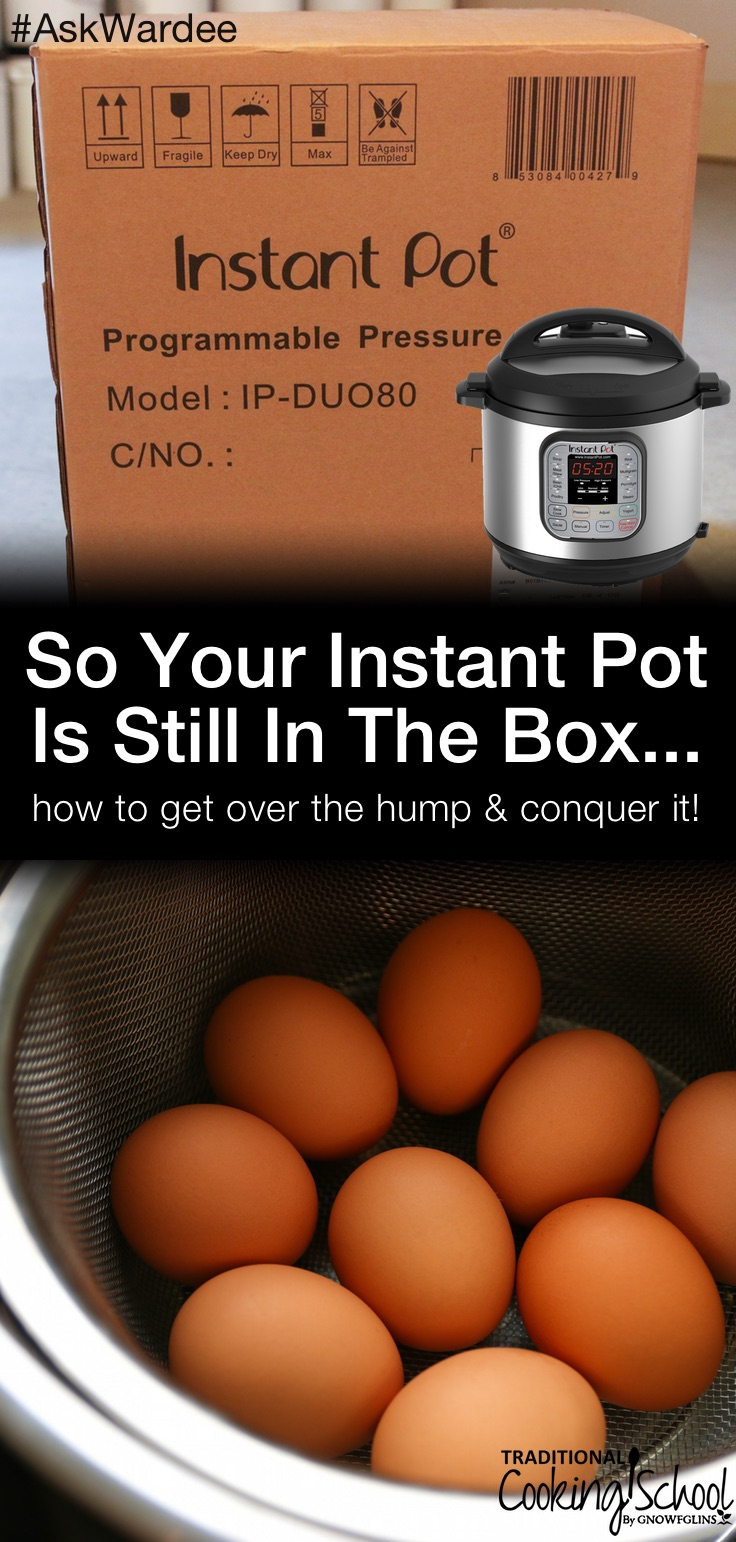 It doesn't matter that everyone says it's easy and fast... It might not be easy or fast for YOU if you don't know how to use it. If your Instant Pot is still in the box... here are 3 things you can do right NOW to begin using it + the best first thing to make in the Instant Pot! | AskWardee.tv