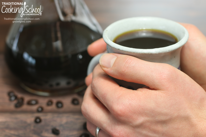 Is Coffee Good For You? + The Truth About Caffeine | What are the chemical components of coffee? What is caffeine, and how does it affect the body? Why do some people feel its effects more than others? When shouldn't you drink coffee? If you're a coffee lover, this post is for YOU! | TraditionalCookingSchool.com