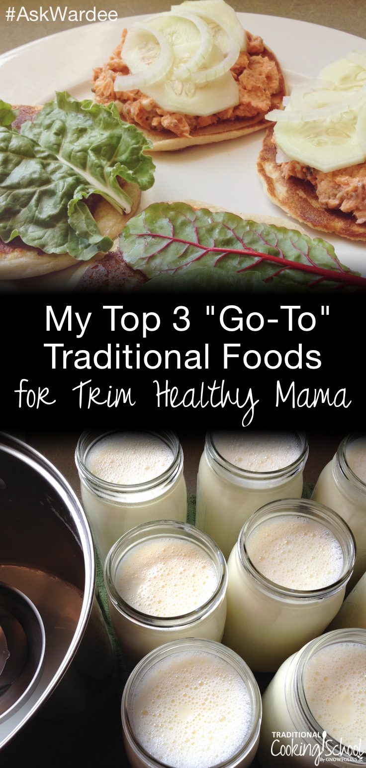 Is it possible to follow the Trim Healthy Mama plan for weight loss with go-to traditional foods? Yes! I did it (and still do) and so can you! Watch, listen, or read for my top 3 go-to traditional foods for Trim Healthy Mama -- plus snag my free traditional foods THM 7-day meal plan! | AskWardee.tv