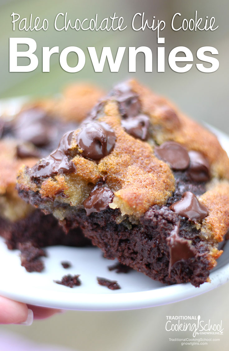 This ooey-gooey, oh-so-chocolate-y recipe has wholesome ingredients and will serve a crowd. They're a brownie lover's dream... and a cookie lover's dream!