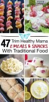 47 Trim Healthy Mama E Recipes, Meals and Snacks - Traditional foods and Trim Healthy Mama...can the two go hand-in-hand? Yes! Because E meals, dinners and snacks with traditional foods are the hardest to find, here's a boat load of ideas -- so you don't have to resort to constant fuel pull, low-fat or store-bought foods to fill in the gaps. #trimhealthymama #erecipes #esnacks #dinner #meals #lowcarb