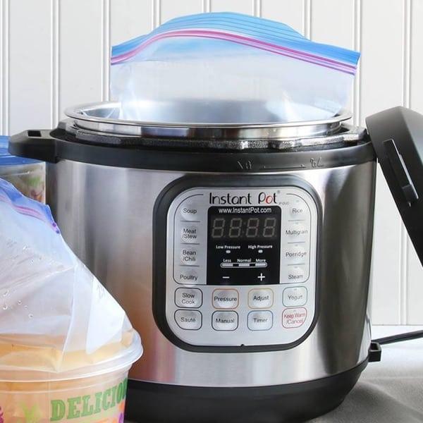 How To Reheat Frozen Food In The Instant Pot {Instant Pot Freezer Meals} #AskWardee 079