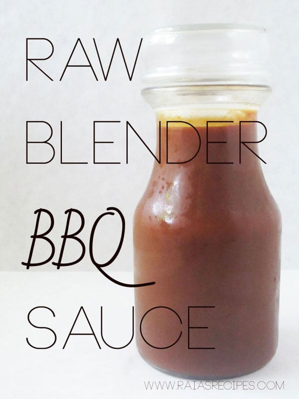 BBQ sauce in a jar with black text overlay