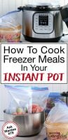 how to cook freezer meals in your instant pot