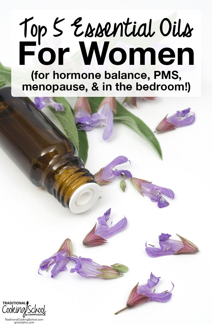 Top 5 Essential Oils For Women For Hormone Balance Pms More