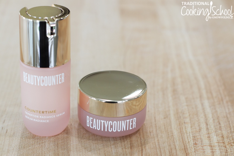natural anti aging skin care countertime line Beautycounter wardee