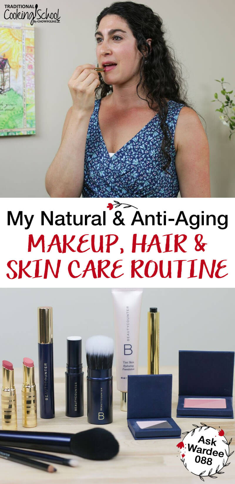 anti-aging makeup skin care hair care wardee