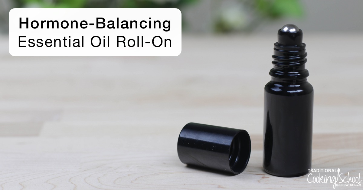 Essential oils are wonderful for hormone balance in your bath, diffuser, or even applied directly on the skin... yet what could be easier than blending them together in a roll-on bottle? Watch, listen, or read to learn how to make a Hormone-Balancing Essential Oil Roll-On! | AskWardee.tv