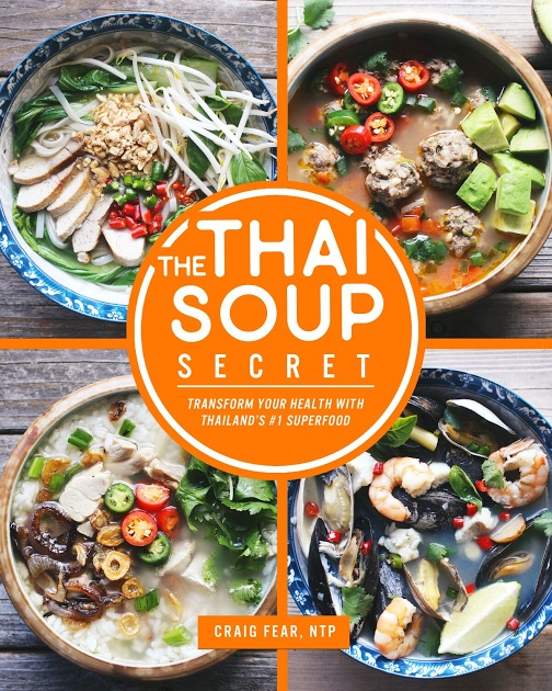 Tom Kha Gai: A Nourishing Thai Broth-Based Soup | Tom Kha Gai, a classic Thai soup you might already know from eating in a Thai restaurant. Here's a simple, wonderful recipe featuring nourishing broth (of course!), coconut milk, lemongrass, lime, chiles, and chicken. | TraditionalCookingSchool.com