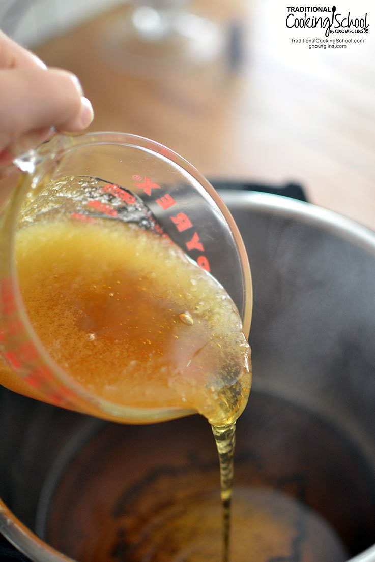 Whisk in honey, lemon juice, and cayenne pepper, if using.
