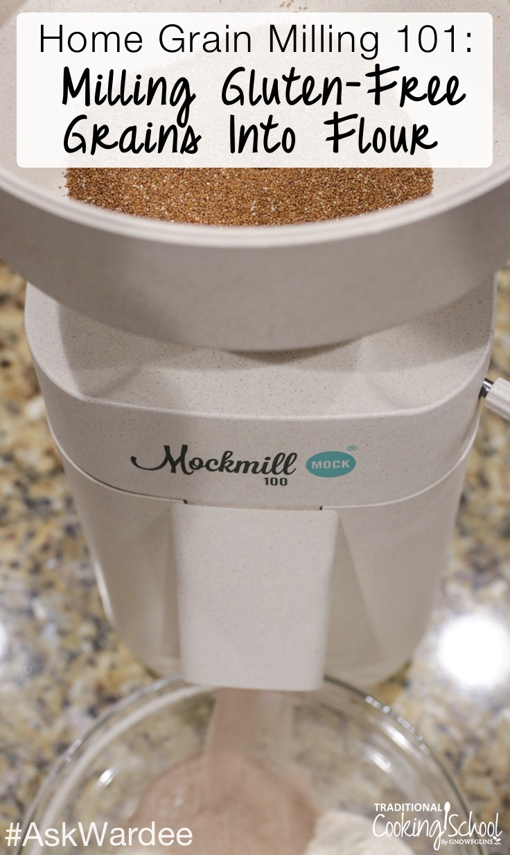Milling gluten-free grains into flour... Is it possible? Yes, it is! And... significant money savings, your own custom flour blend(s), and better results are in store when you mill your own gluten-free flours and mix them into custom gluten-free flour blends. Watch, listen, or read to learn about milling gluten-free grains, which mill I recommend, and how to create gluten-free flour blends for light and fluffy results!