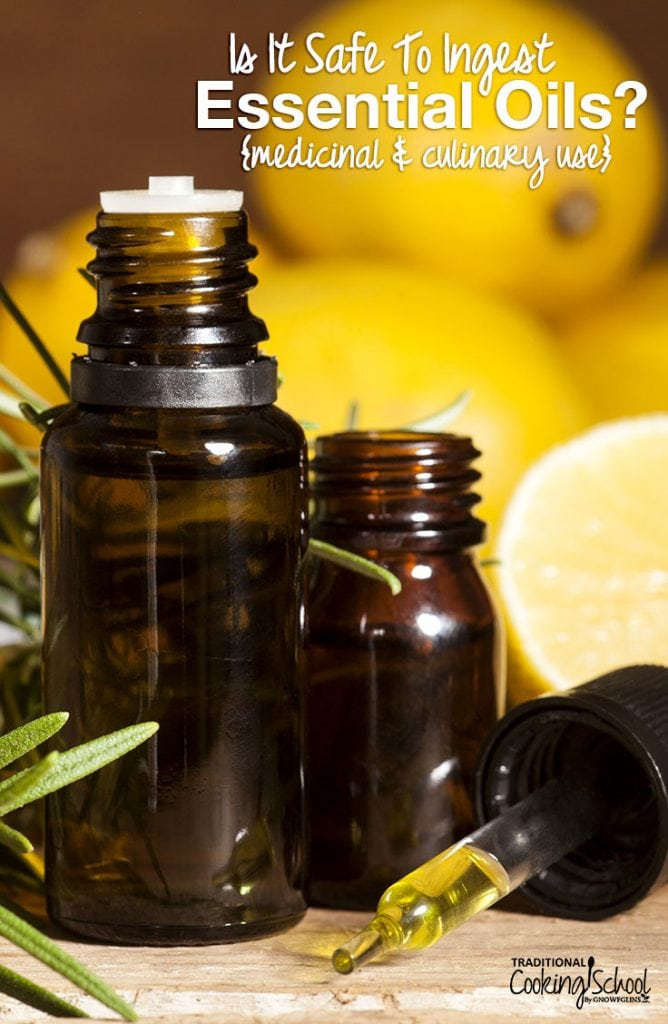 Is it safe to ingest essential oils? You may have noticed... this is a controversial topic! So, let's explore what aromatherapists and essential oil experts have to say about consuming essential oils for medicinal and culinary purposes.