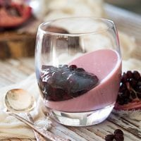 As January begins, people far and wide vow to clean up their diets and be healthier...For many, this means depriving themselves of good food! Except... you can indulge and eat healthfully! This Healthy Probiotic Pomegranate Mousse is a nourishing, clean-eating way to enjoy pomegranates in season while also reaping the benefits of probiotics and gelatin!
