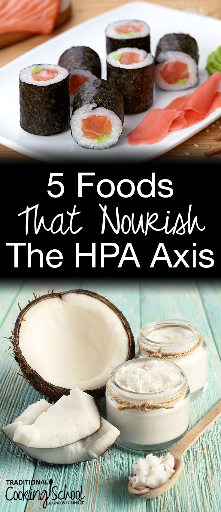 Have you experienced fatigue, insomnia, weight gain, blood sugar imbalance, anxiety, and cravings for sweet or salty foods? A nutrient-dense diet is exactly what sufferers of HPA axis dysfunction (formerly called adrenal fatigue) need! It is possible to find healing through diet with these 5 foods that nourish the HPA axis!