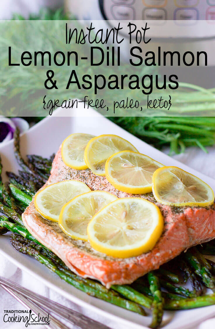 fillet of salmon topped with lemon slices