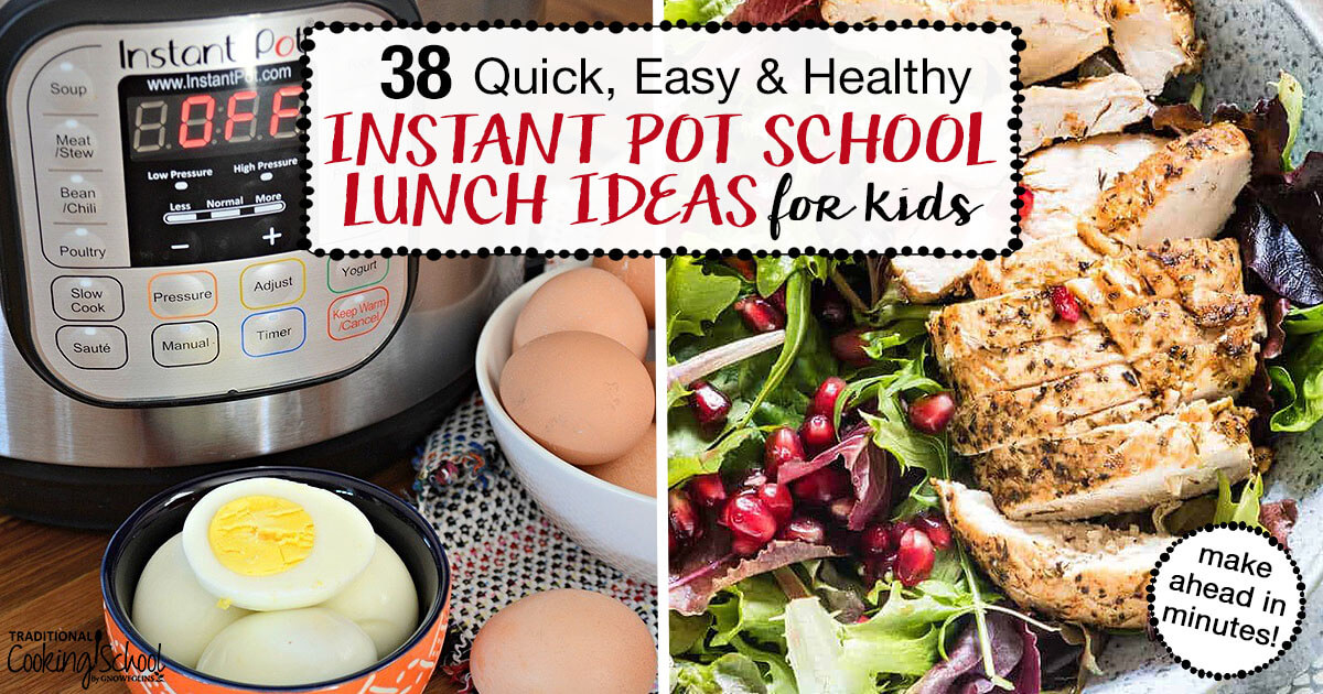 38 Quick Easy Healthy Instant Pot School Lunch Ideas For Kids,Types Of Hamsters With Pictures