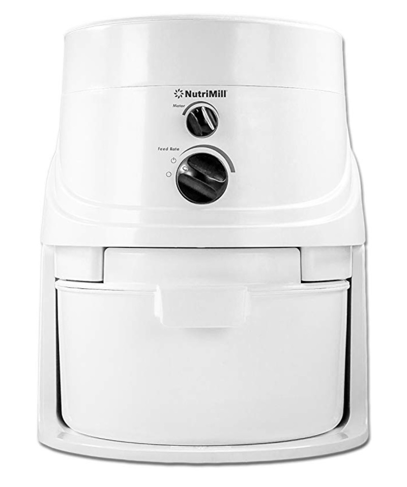 photo of the Nutrimill, a home grain mill